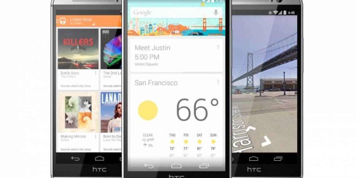 Android Lollipop llega a los HTC One M8 y M7 GPE