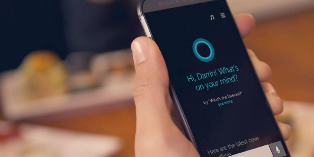 Cortana llegará a Android y iOS
