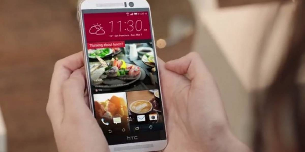 El HTC One M9 se deja ver en un video