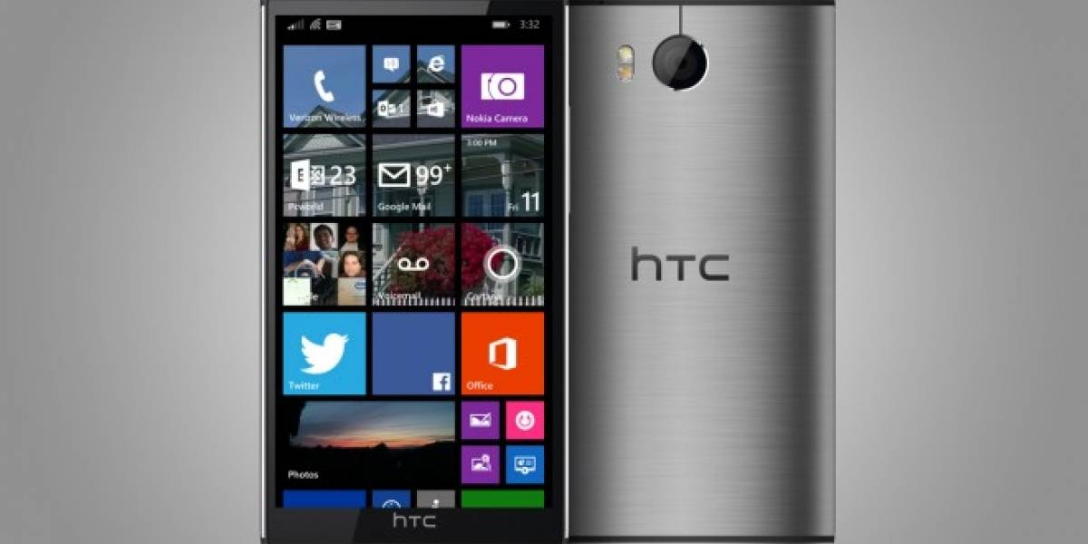Filtran imagen del HTC One con Windows Phone desde los servidores de Verizon