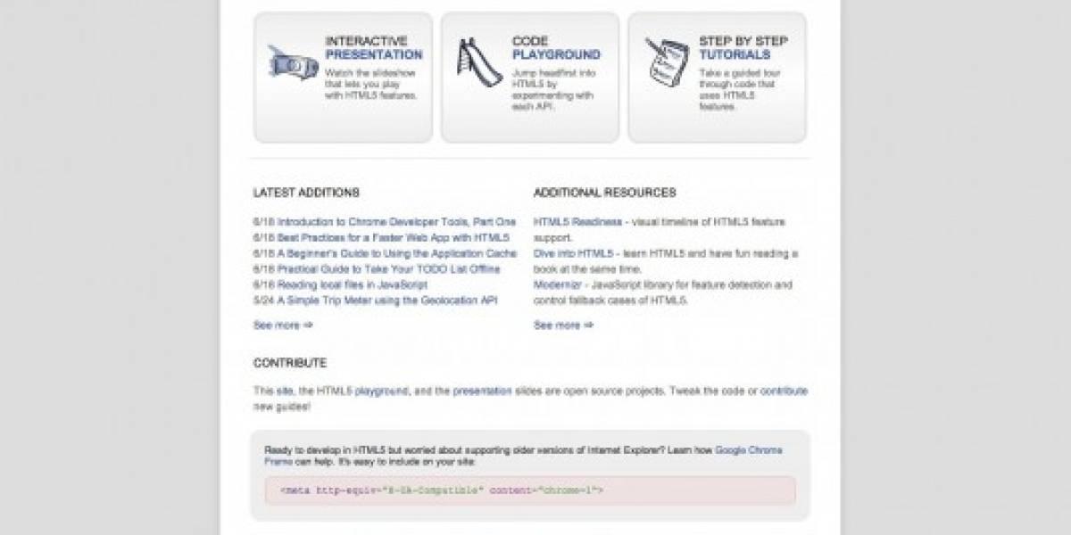 HTML5ROCKS, la respuesta de Google a Apple