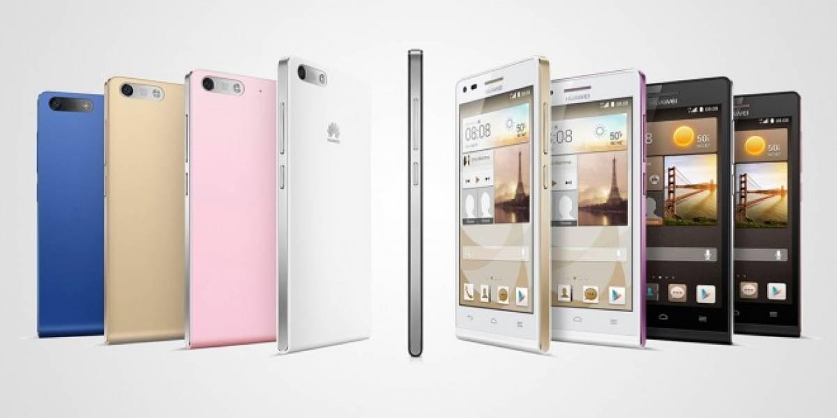 Huawei Ascend G6, un gama media con LTE-A #MWC14