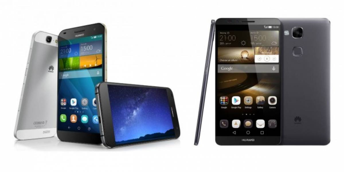 Huawei presenta a sus nuevos Ascend Mate 7 y Ascend G7 #IFA2014