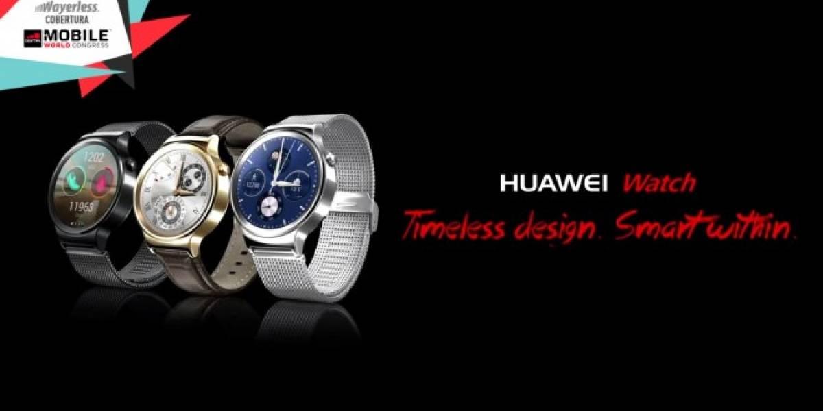 Aparecen imágenes del Huawei Watch antes de su presentación #MWC15