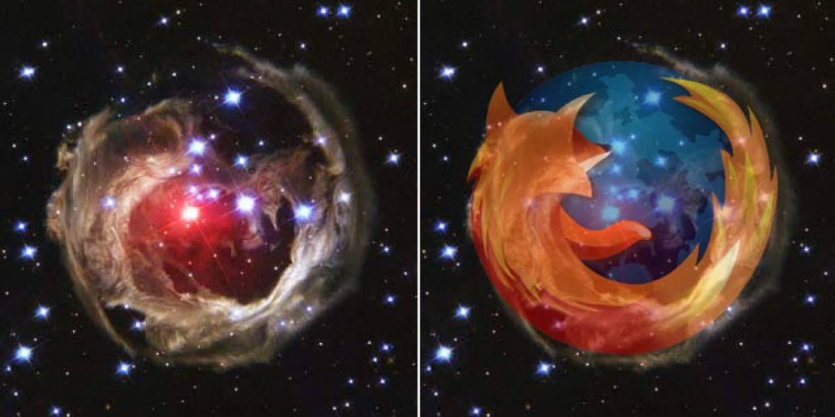 Firefox: Una estrella en el Espacio