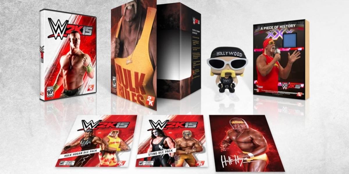 Se anuncia la edición de colección de WWE 2K15