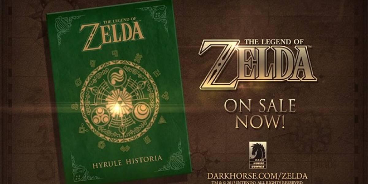 The Legend of Zelda: Hyrule Historia se convierte uno de los más vendidos en Amazon
