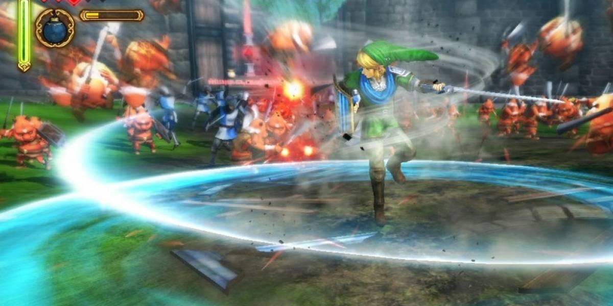 Hyrule Warriors llegará en el verano a Japón