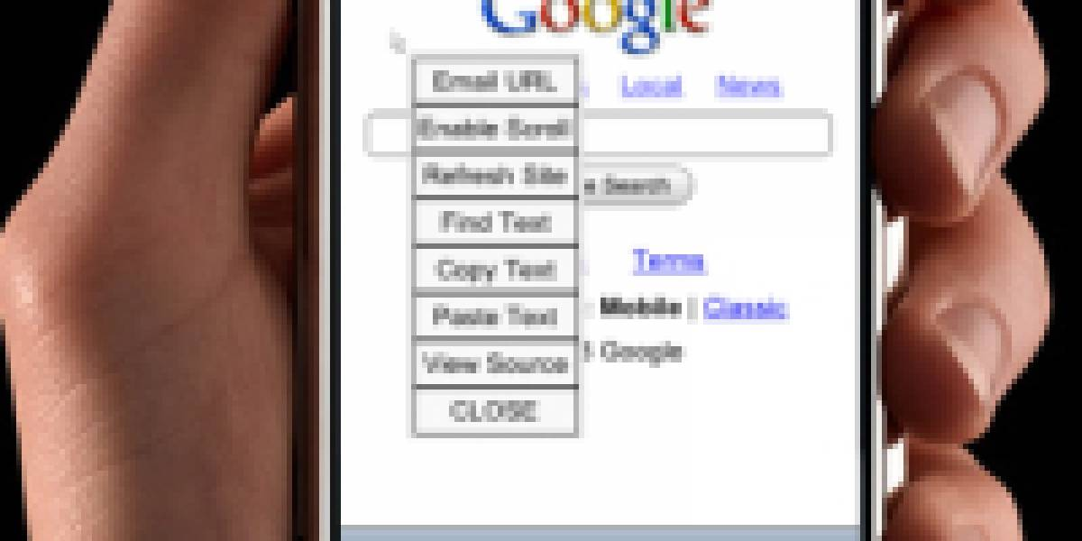 Copia y pega en el iPhone con iCursor