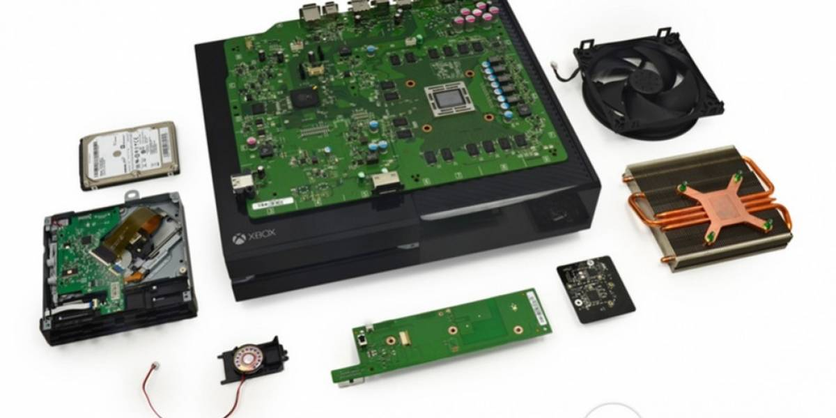 iFixit nos muestra las entrañas de la Xbox One