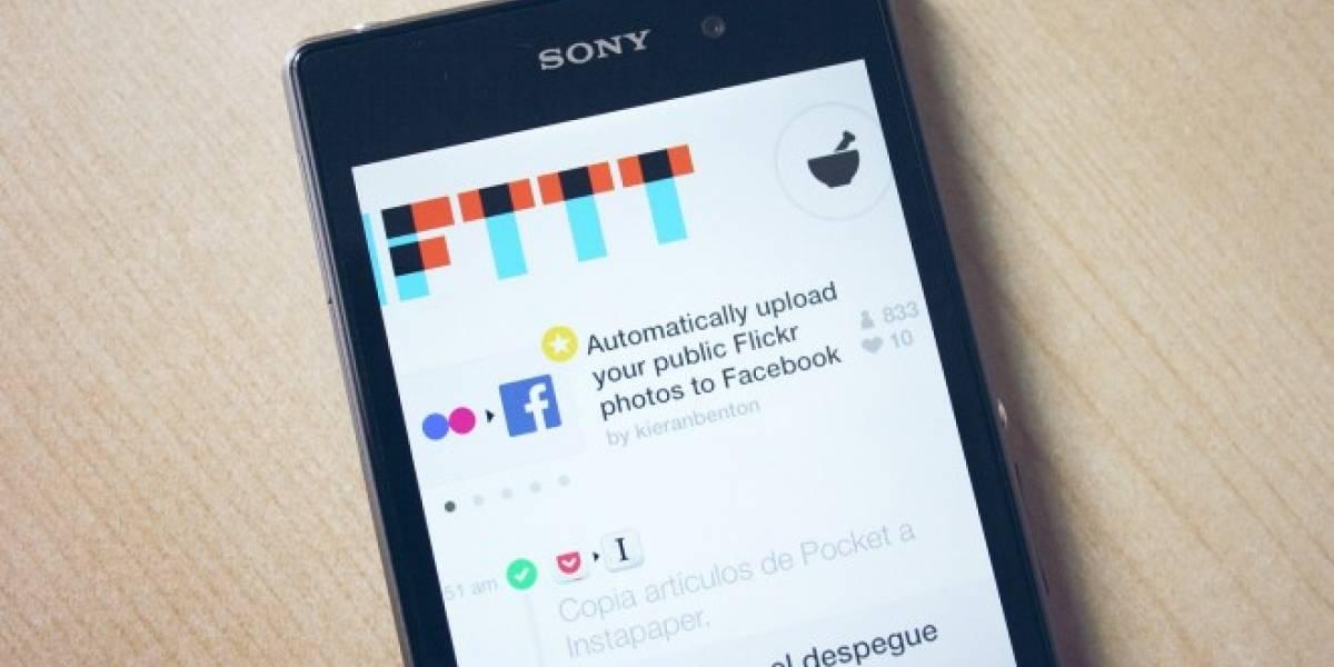 IFTTT llegará a Android