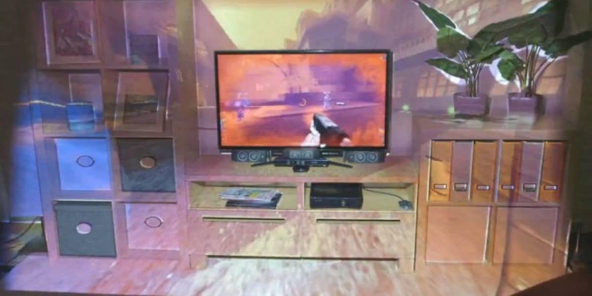 CES 2013: Microsoft revela el sistema IllumiRoom para Xbox