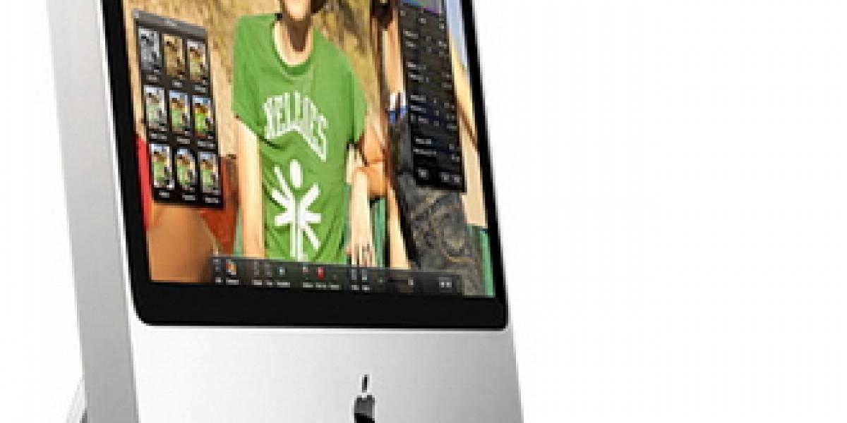 Nuevos Apple iMac ahora con Core 2 Duo Penryn a 3.06 GHz