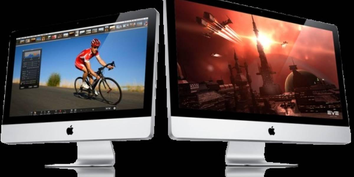 Apple actualiza linea de computadoras iMac