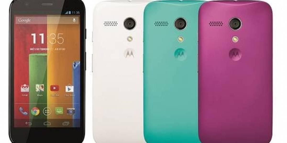 Llegan nuevas carcasas y flip covers a Chile para el Motorola Moto G