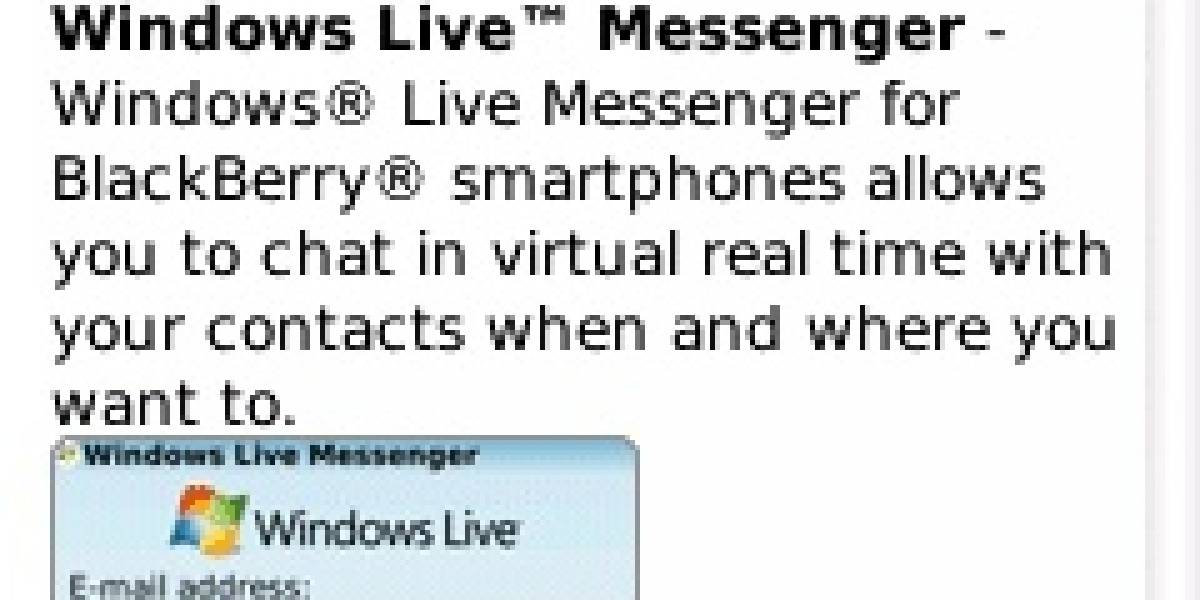 Actualizan clientes de mensajería para BlackBerry