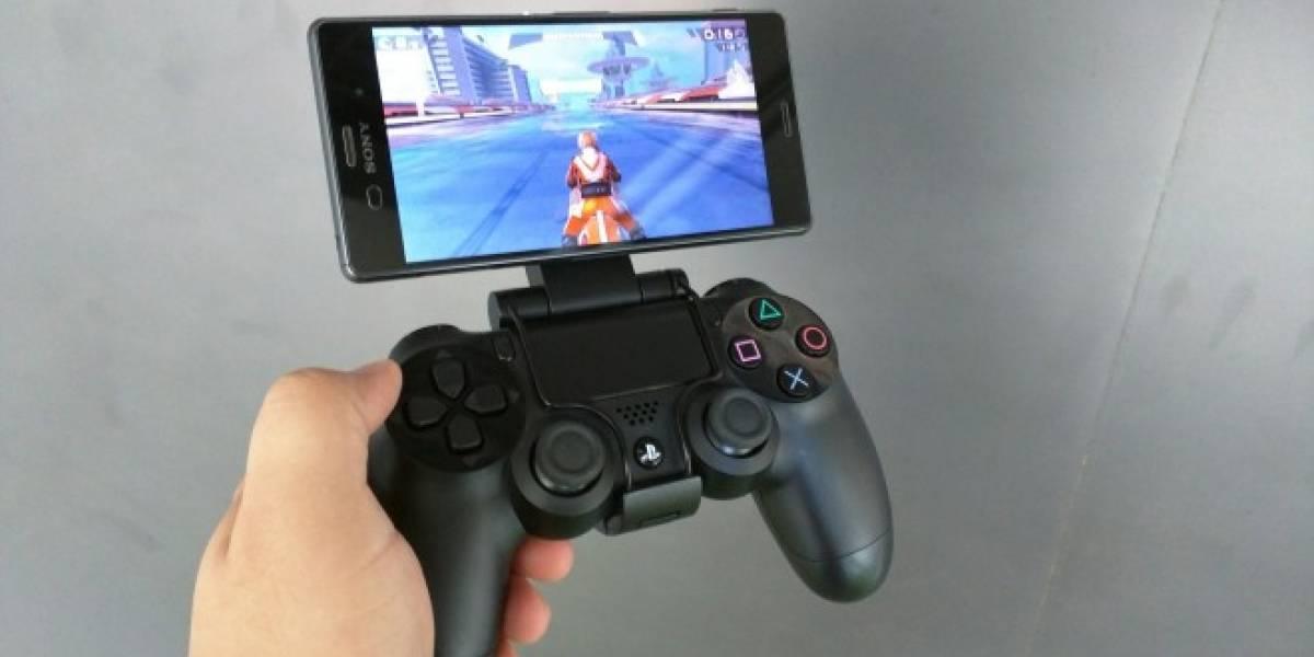 Sony Game Control Mount para smartphones Xperia a primera vista