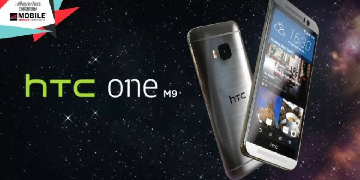HTC hace oficial a su nuevo One M9 #MWC15