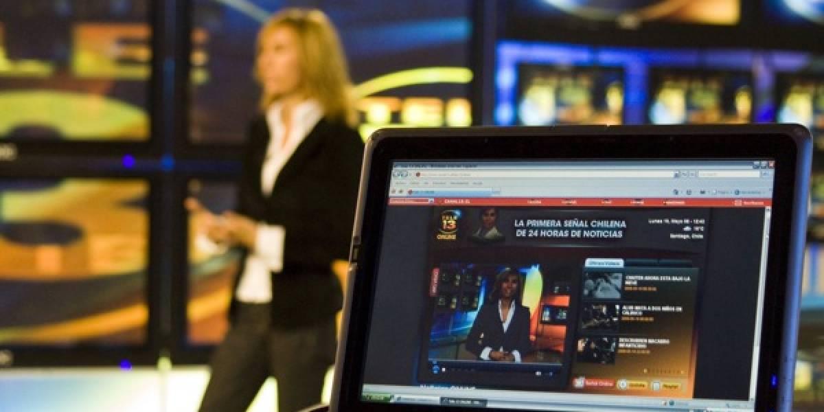 Canal 13 lanzó Tele 13 Online: 24 horas de noticias vía internet