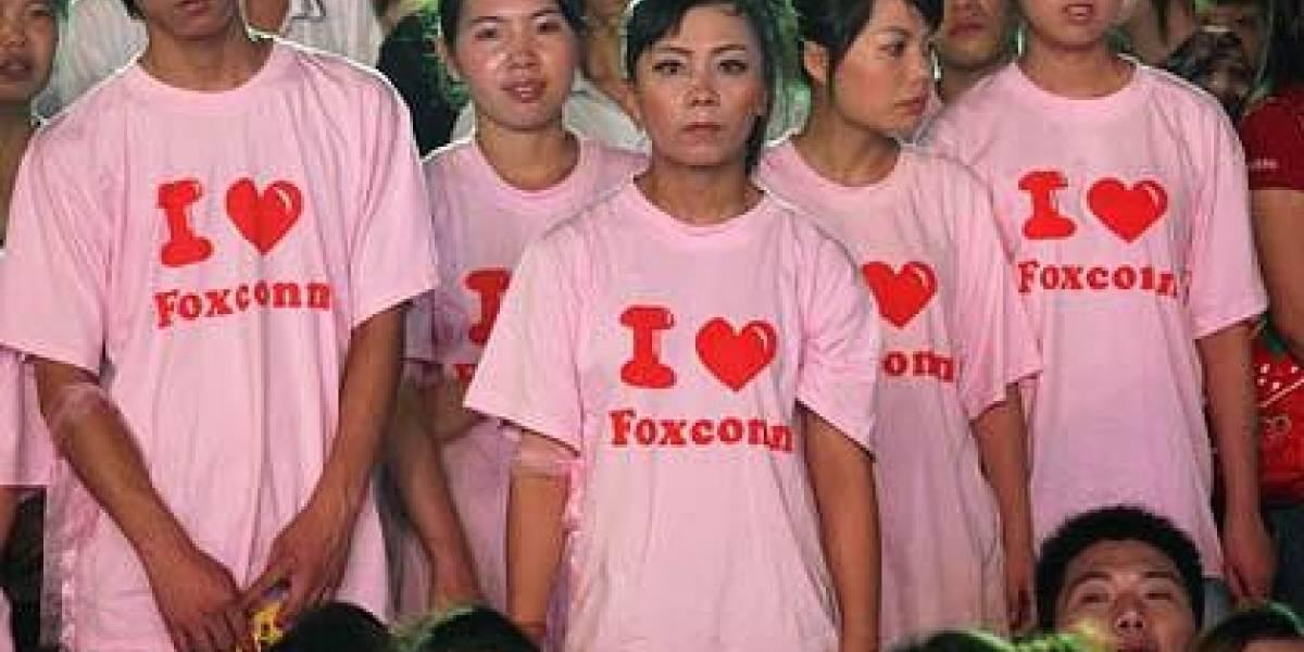 Foxconn tiene ya 1 millón de empleados y sigue contratando