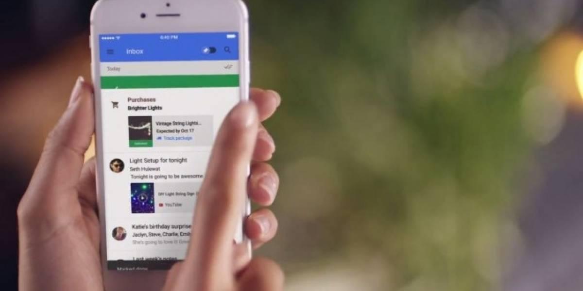 Google asegura que Inbox no busca reemplazar a Gmail