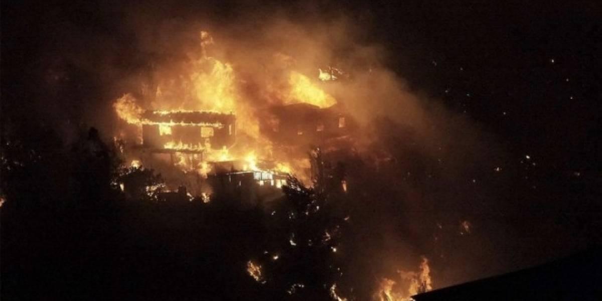 Movistar, Entel y Claro toman medidas con respecto al incendio que afecta a Valparaíso