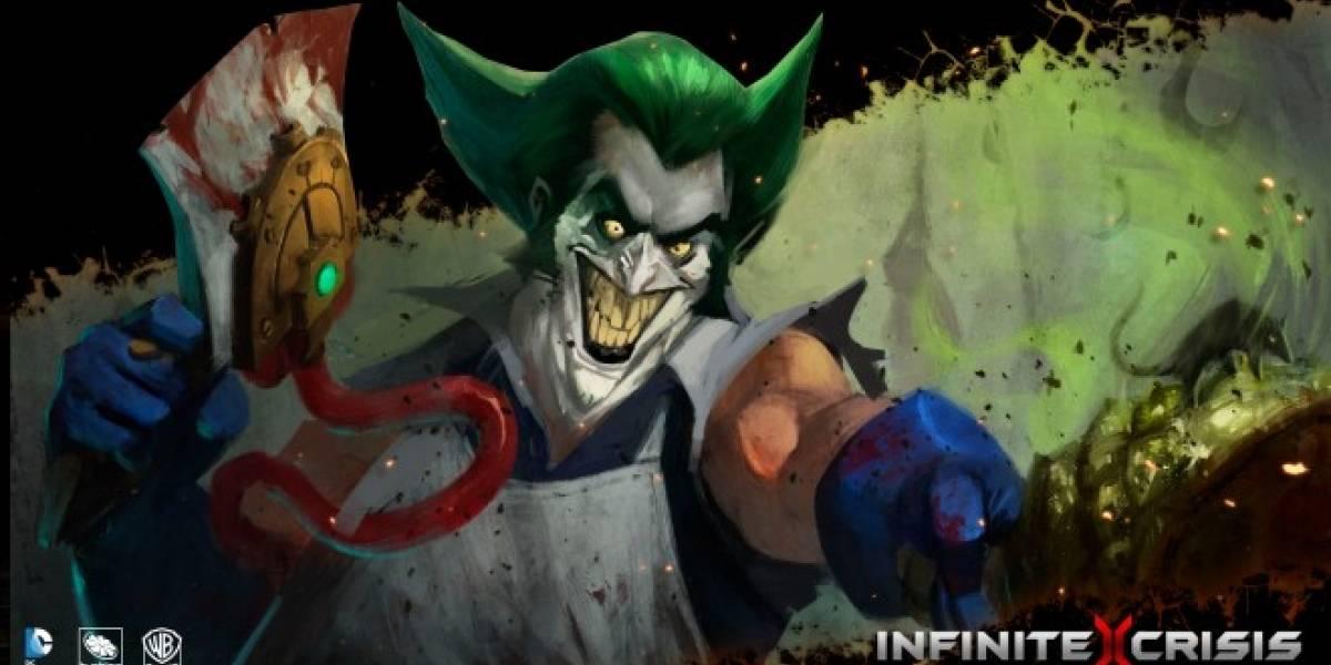 Nuevos videos de Infinite Crisis nos presentan a Flash y Joker en acción