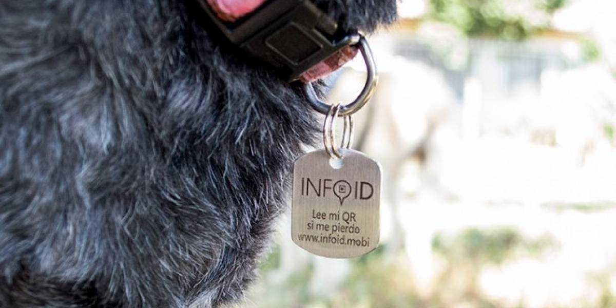 Info ID: Identifica mediante código QR y encuentra tu mascota perdida