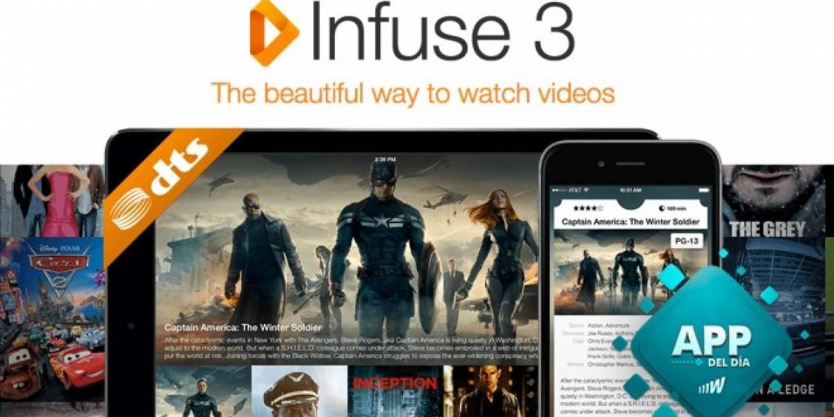 Infuse es la mejor app para ver películas en iOS [App del día]