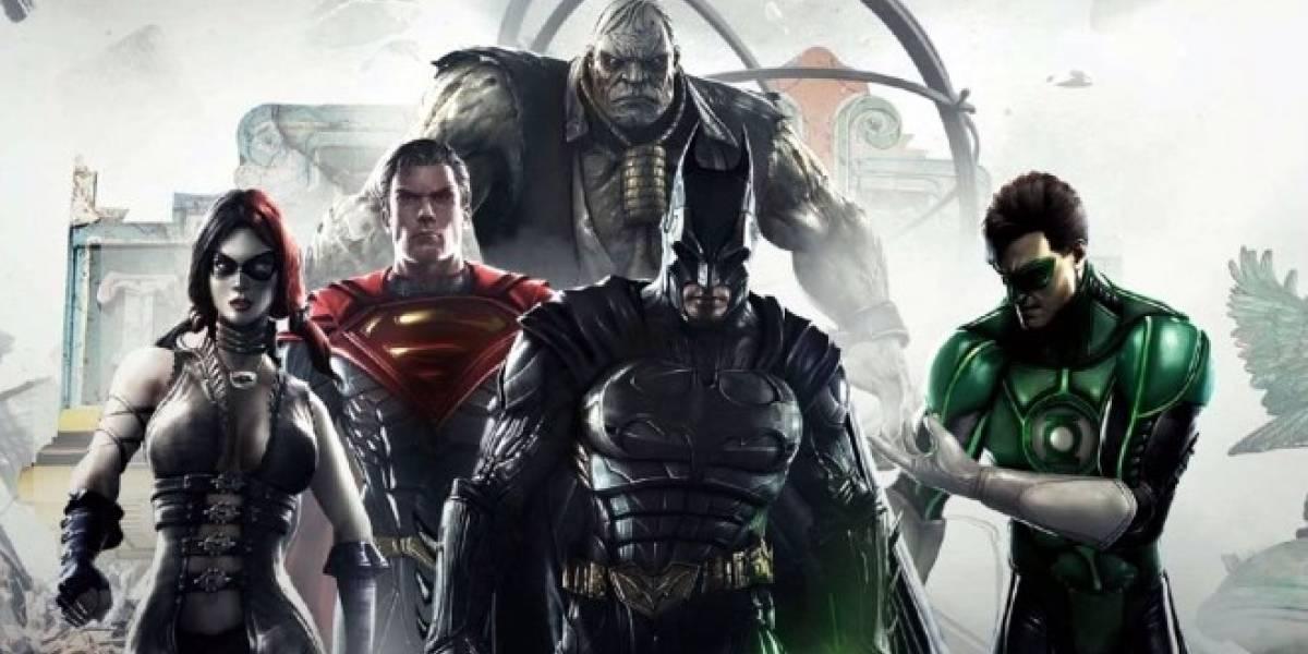 Injustice: Gods Among Us fue el juego más vendido en Estados Unidos el mes pasado
