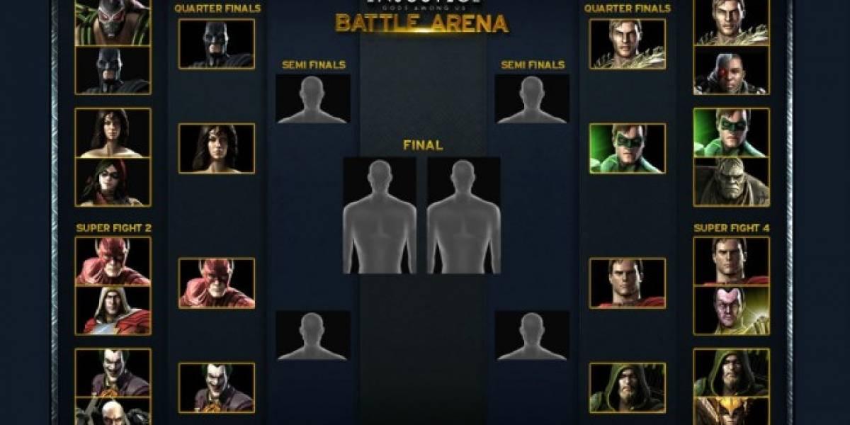 Vean los Cuartos de Final de los combates de Injustice: Gods Among Us