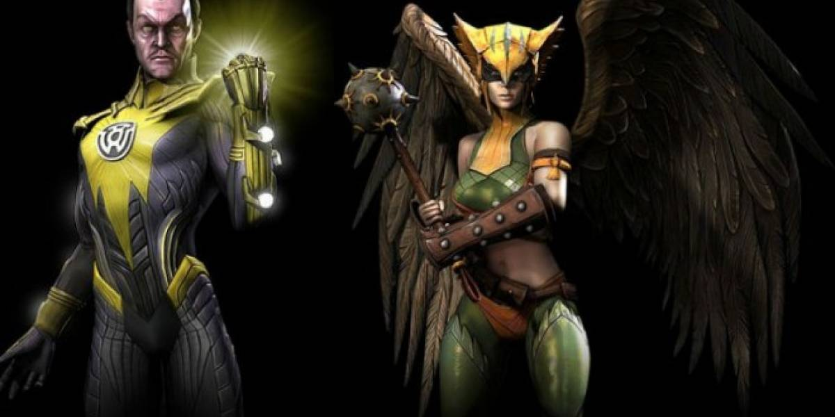 Se confirman Sinestro y Hawkgirl para Injustice: Gods Among Us