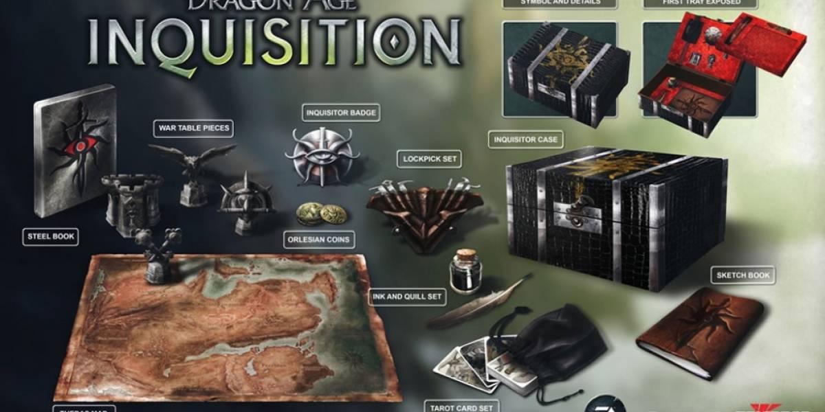 Se revela la edición de colección de Dragon Age: Inquisition