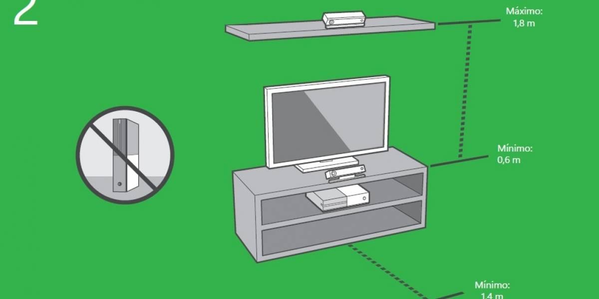 Instructivo filtrado de Xbox One te dice cómo instalar tu Kinect