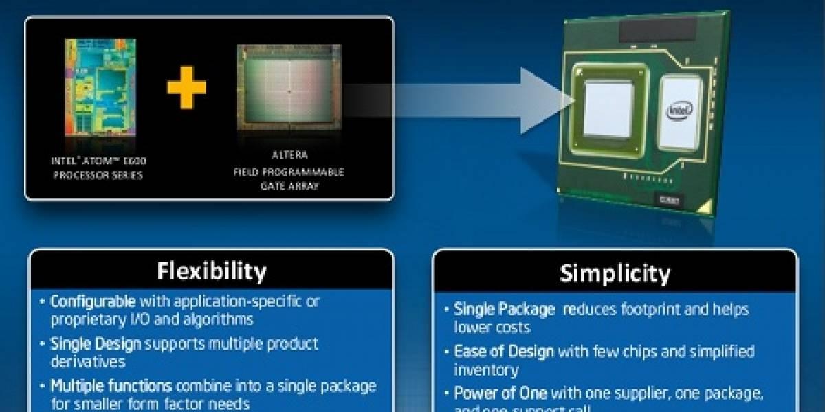 Intel lanza el primer procesador Atom configurable