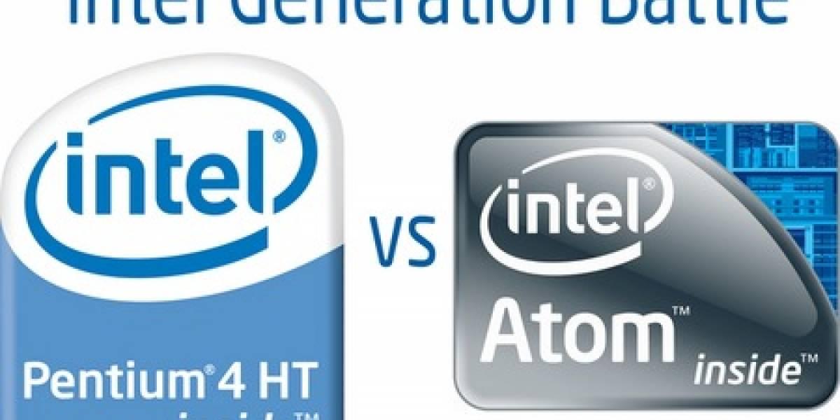 Pentium 4 vs Intel Atom
