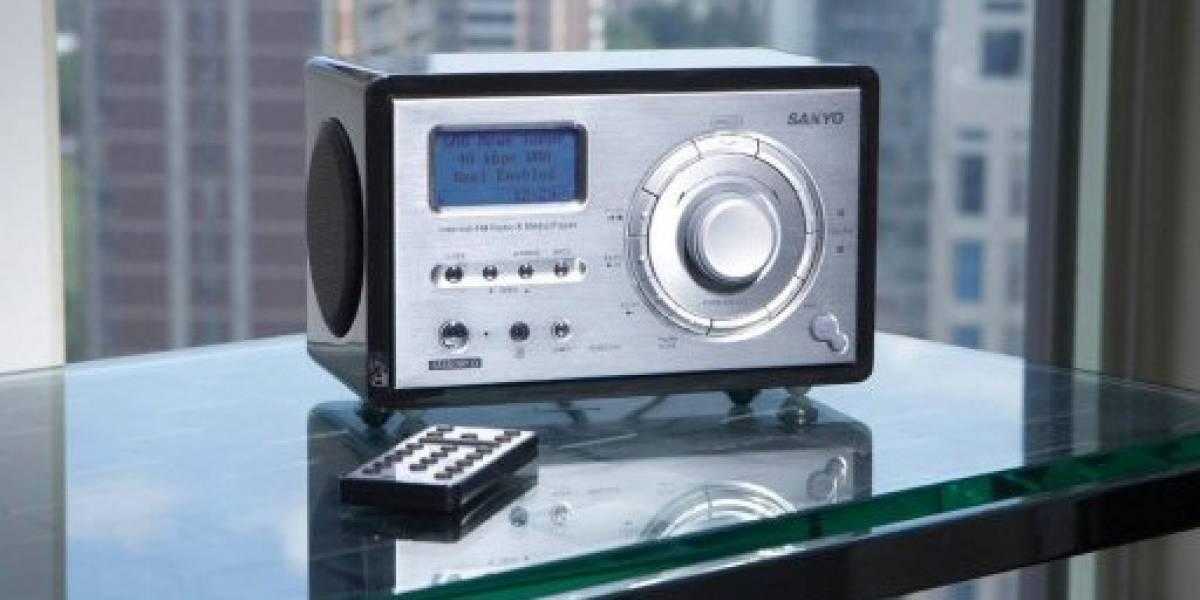 Sanyo R277: Radio Internet