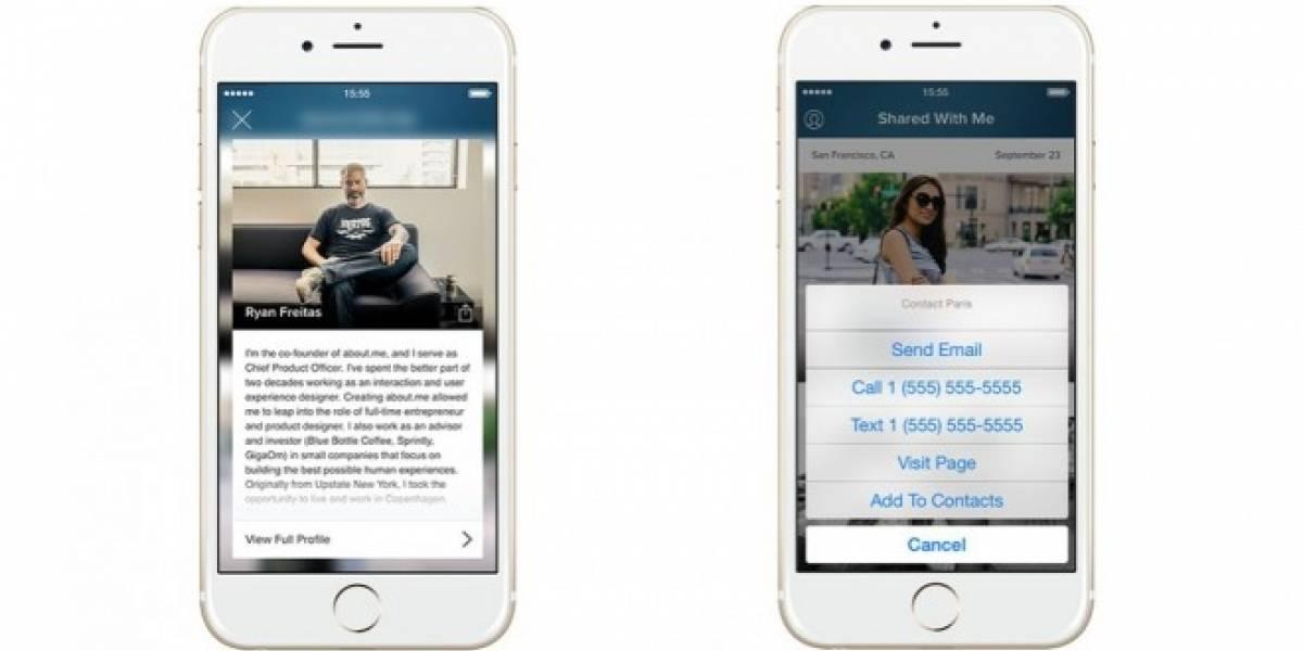 Intro convierte tu smartphone en una tarjeta de presentación digital