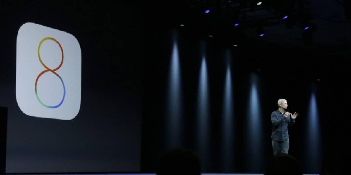 Ya se encuentra disponible iOS 8 Beta 4 para los desarrolladores