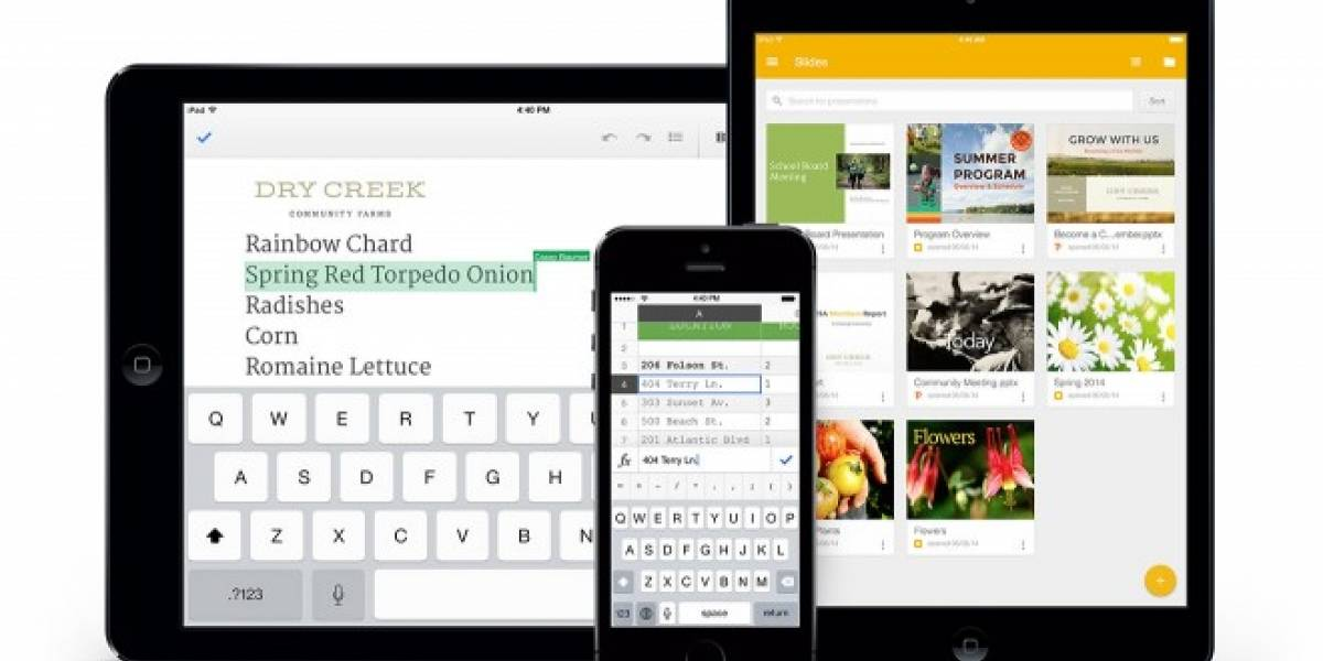 Google lanza Slides para iOS