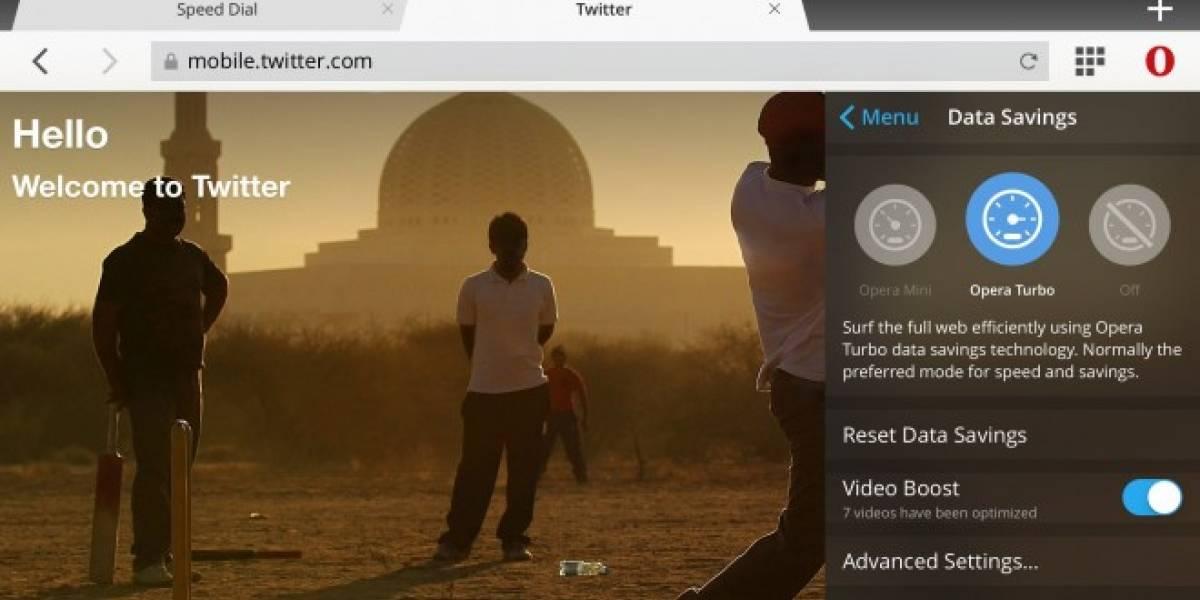 Opera Mini para iOS ahora tiene compresión de video