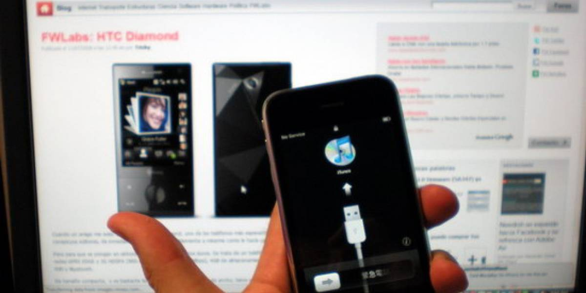 FWLabs: Desempacando y primera vista del Apple iPhone 3G