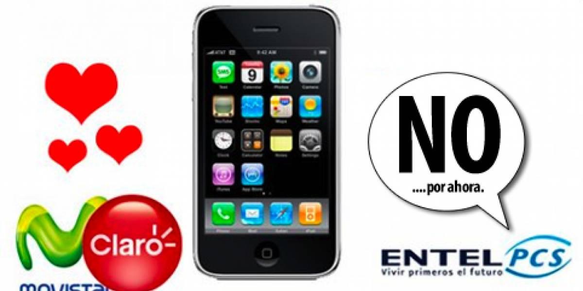 Definitivo: Entel PCS no trae el iPhone 3G... por ahora