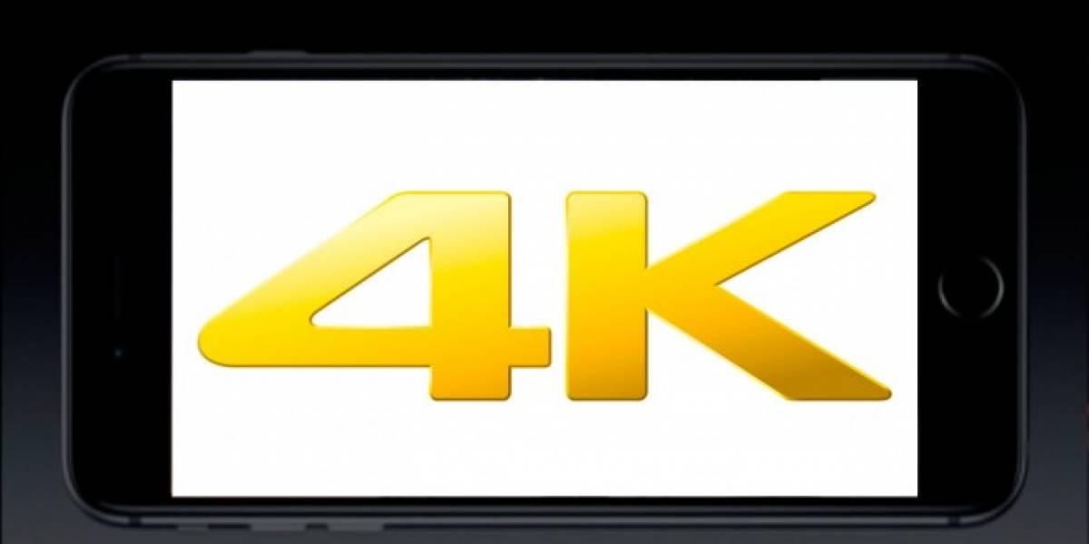 El iPhone 6 sorprende a sus seguidores al demostrar ser capaz de reproducir video en 4K