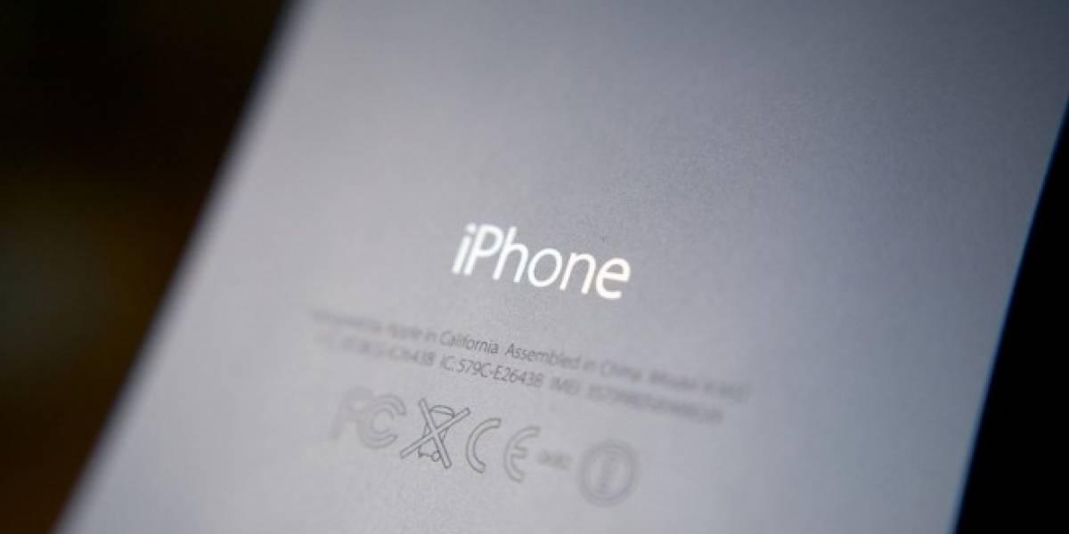 Aparece imagen con la carcasa trasera del iPhone 6