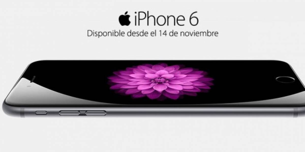 Retail chileno ya comienza la pre-venta del iPhone 6 en Chile