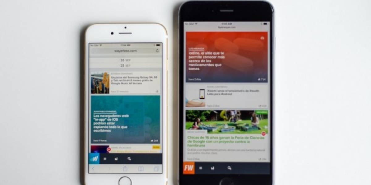iPhone 6 llega el 31 de octubre a México