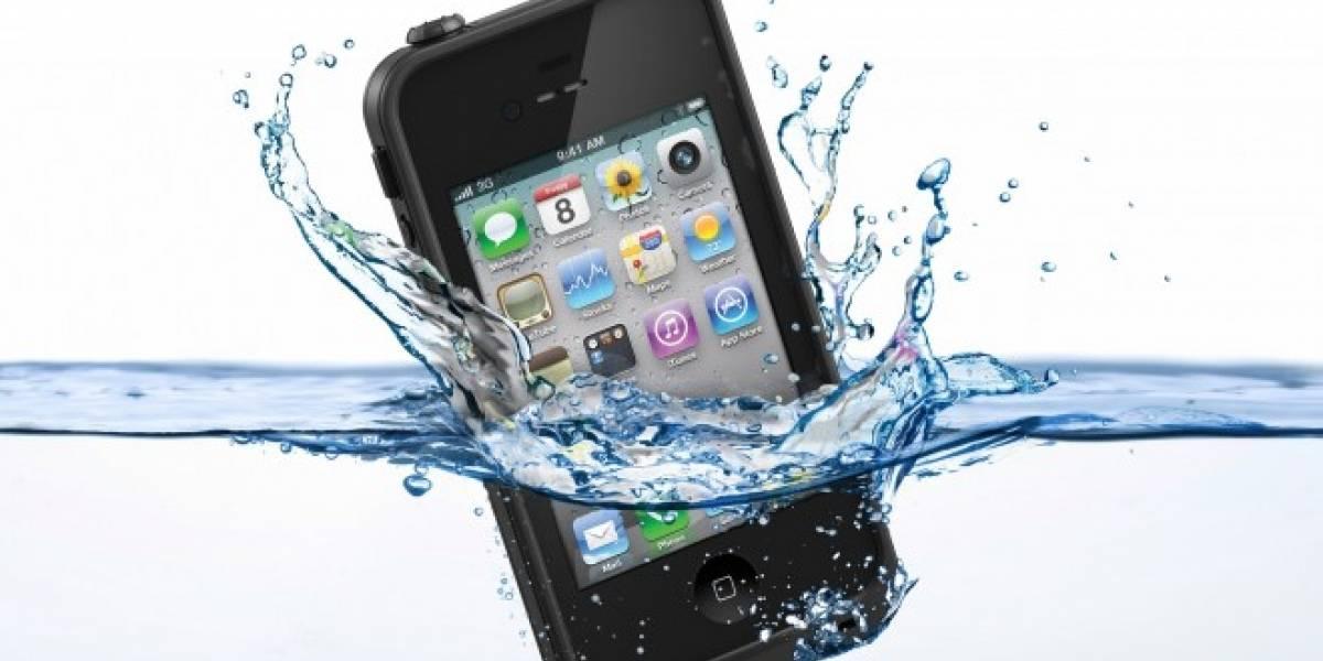 Apple explora métodos para hacer que sus equipos sean resistentes al agua