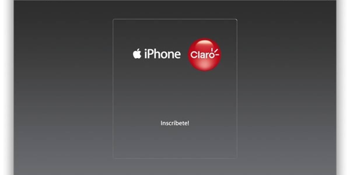 Claro Chile abre inscripciones para el iPhone 3G en Chile: llegaría el 30 de Julio