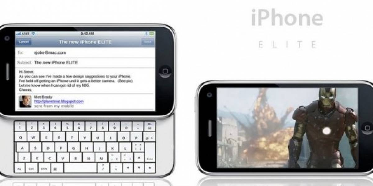 Concepto: iPhone ELITE y iPhone Pro